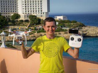 Путешествуем с дроном DJI Phantom 3 Standart
