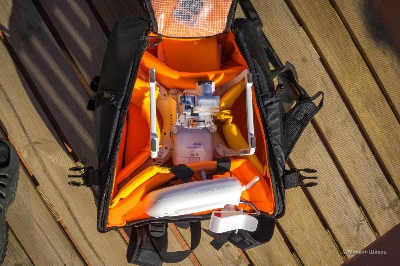 Конфигурация рюкзака