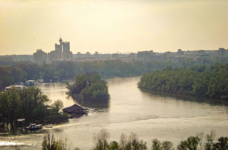 Слияние Дуная и Саввы у подножия Калемегдана