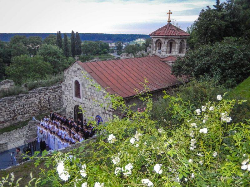 Вид на церковь Св.Петка на Калемегдане