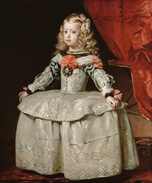 «Портрет инфанты Маргариты в белом платье», 1656 г.