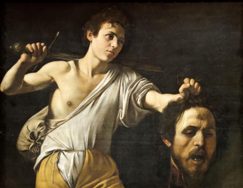 «Давид с головой Голиафа», Караваджо