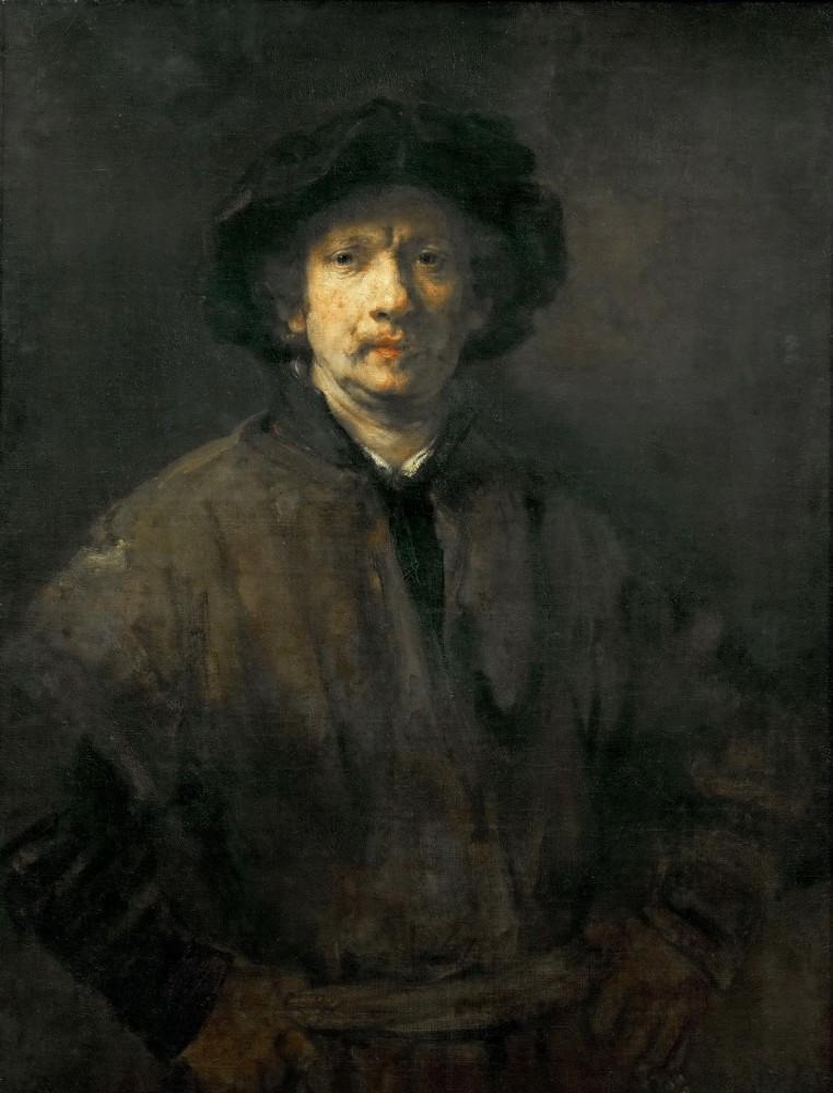 «Большой автопортрет», Рембрандт