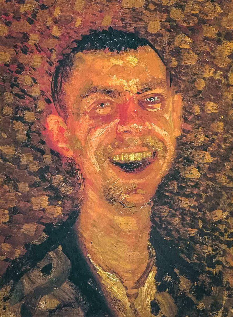 Рихард Герстль «Смеющийся автопортрет», 1907 г.