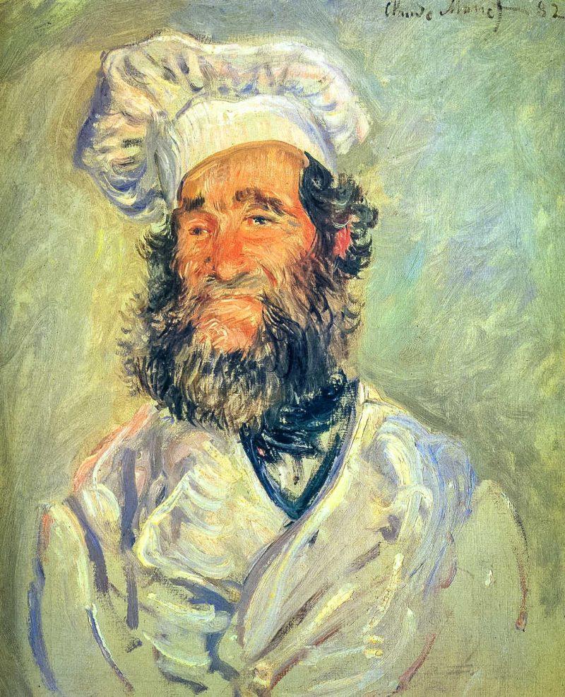 "Клод Моне ""Шеф-повар, папаша Поль"", 1882 г."