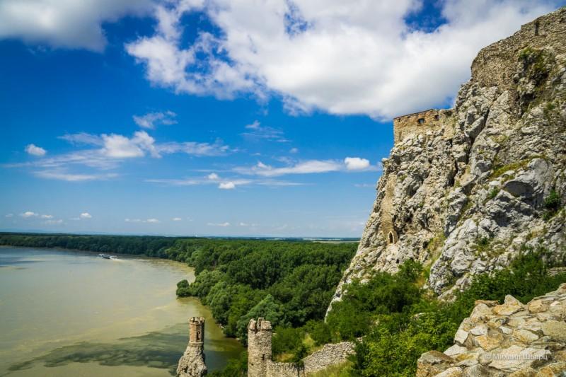 Панорама с крепостных стен