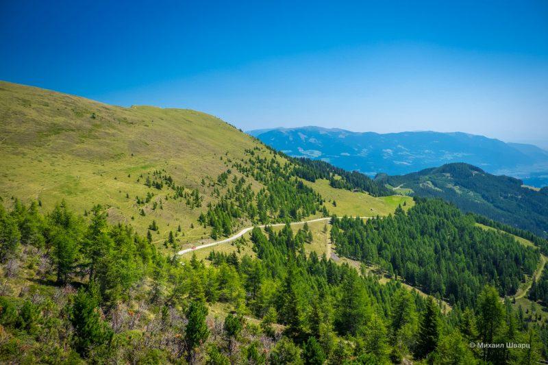 Гольдек - панорамная дорога