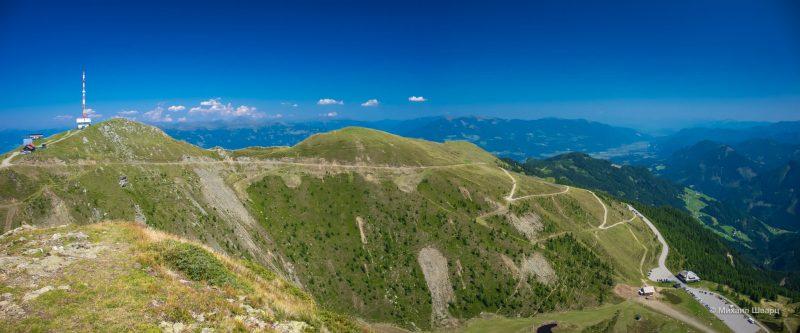 Дорога на вершину Goldeck