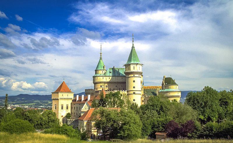 Бойницкий замок – словацкий «Версаль» Яна Пальфи