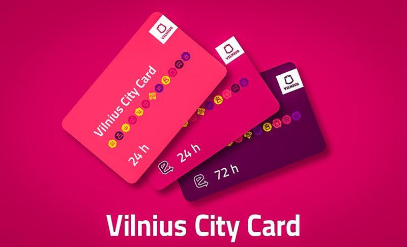 Туристические Карты города Вильнюс