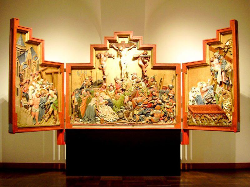 Цнаймский алтарь, (1440–50 гг.)
