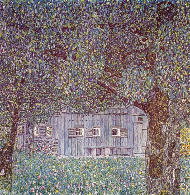 Густав Климт «Крестьянский дом в Верхней Австрии», 1911–12 гг.