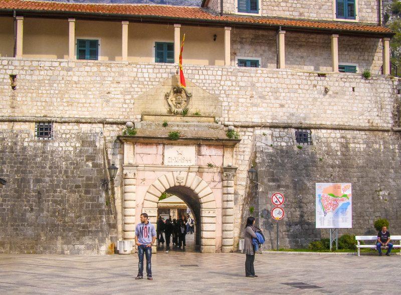 Морские ворота Котора (1555 год)