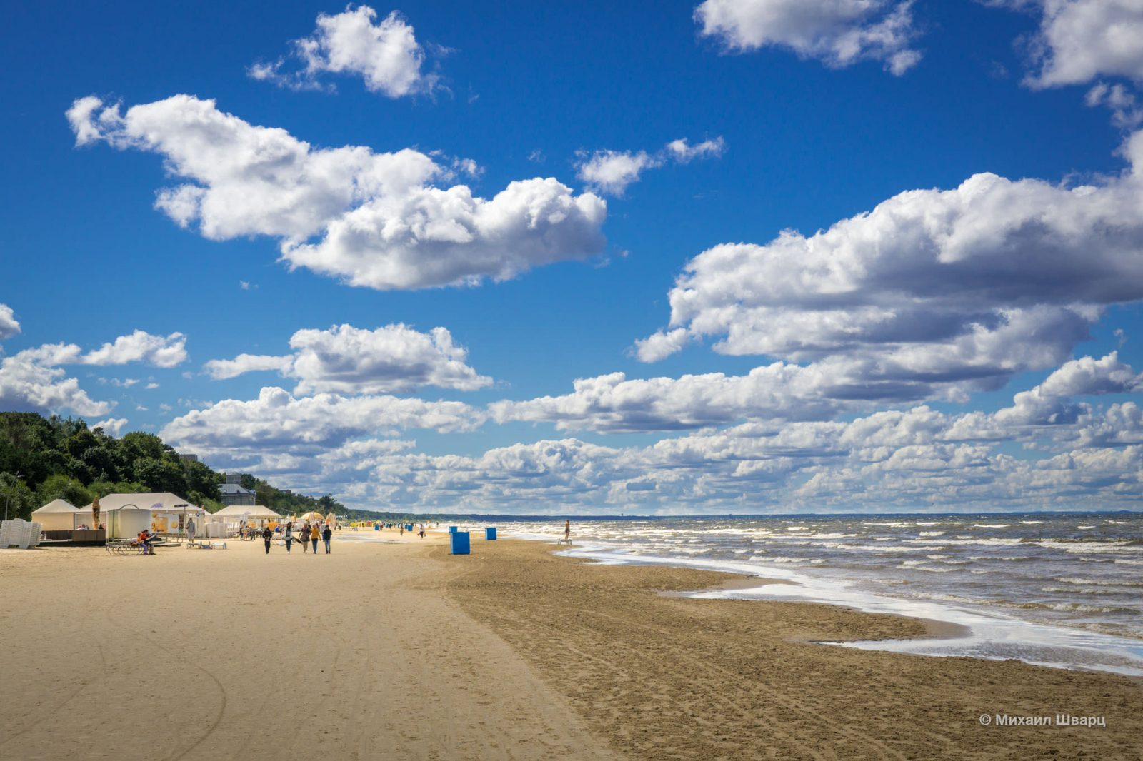 Бесконечные пляжи Юрмалы