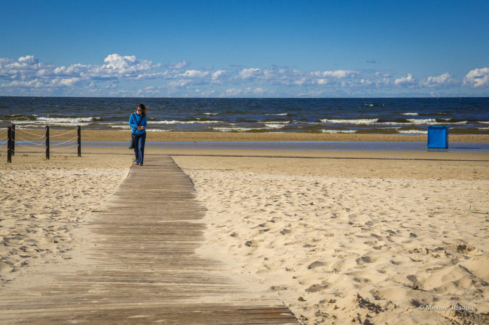 Пляжная дорожка