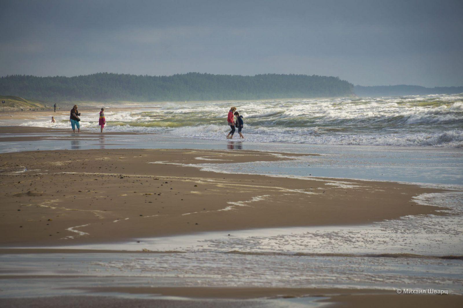 Почти океанический пляж в депрессивном Вентспилсе