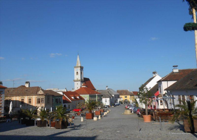 Руст – город виноделов на берегу «австрийского моря»