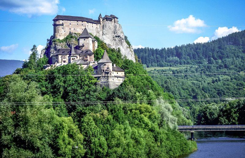 Оравский град – один из красивейших замков Словакии