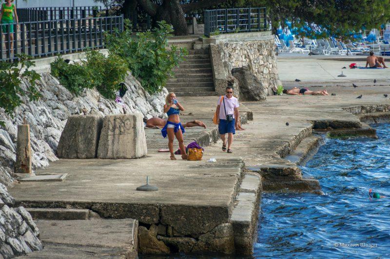 Пляж в Герцег Нови