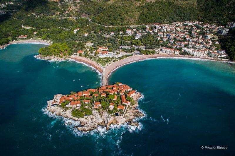 Вип-остров Свети Стефан