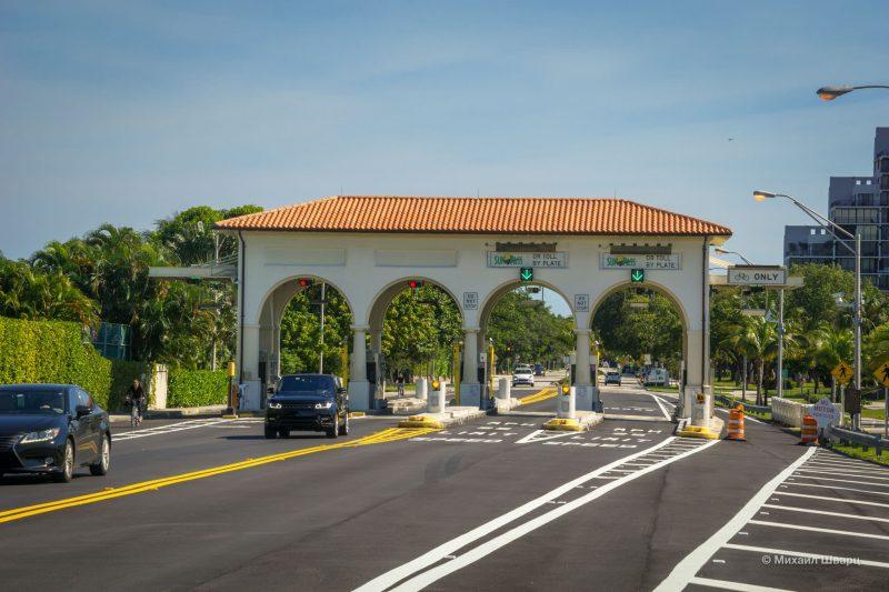 SunPass платная дорога в США