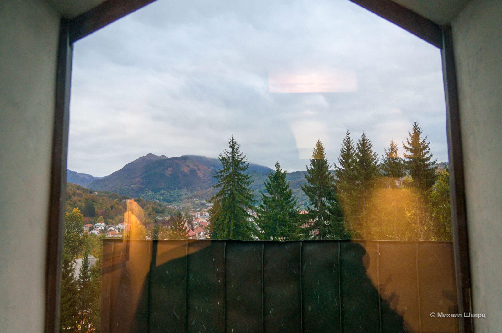 Вид на Биоградскую гору
