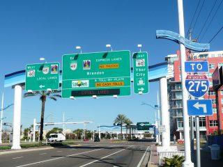 Как оплачивать платные дороги в прокатных конторах США