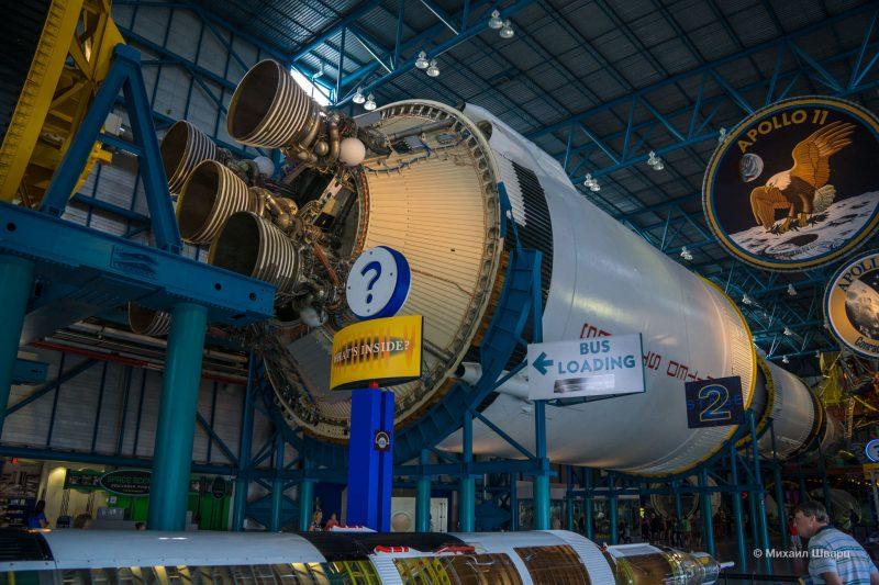 Kennedy Space Center и берем новую машину в Орландо. 9