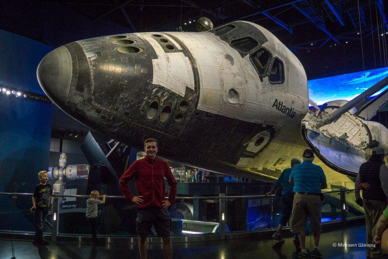 Kennedy Space Center и берем новую машину в Орландо. 12