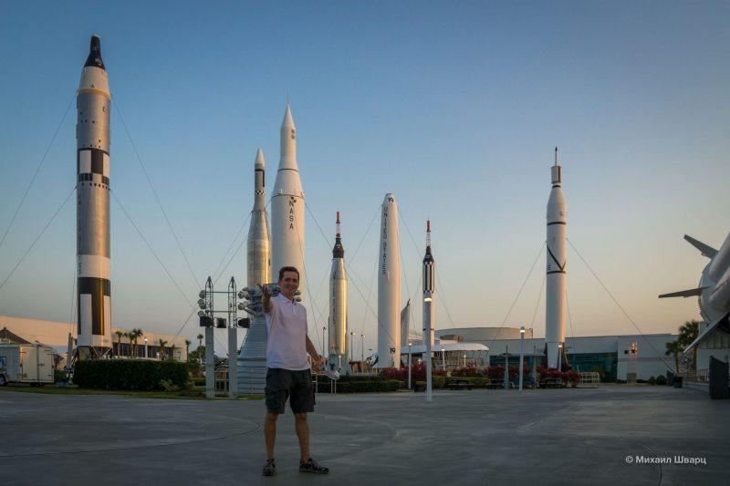 Kennedy Space Center и берем новую машину в Орландо. 13