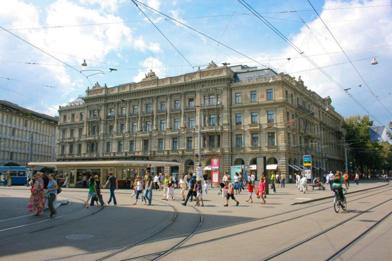Парадеплац (Paradeplatz)