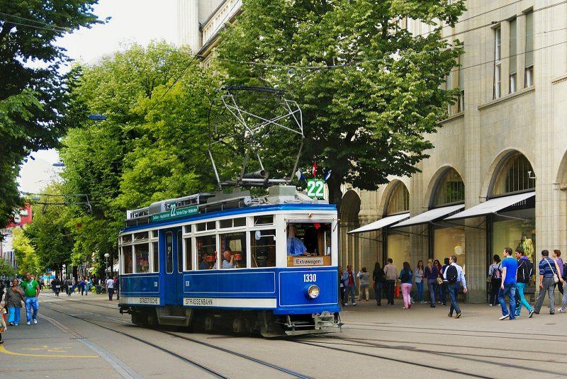Банхофштрассе (Bahnhofstrasse)