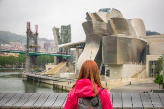 Музей Гуггенхайма и Бискайский мост