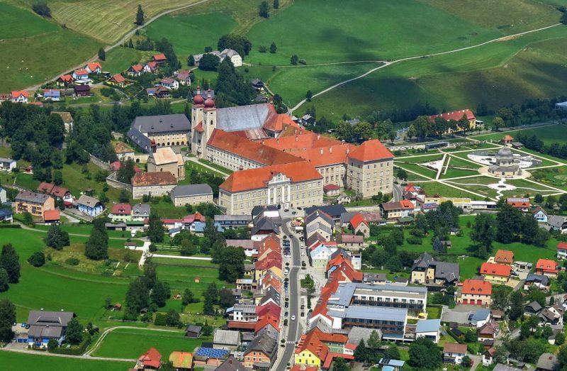 Аббатство Святого Ламбрехта – действующий монастырь бенедиктинцев в Штирии