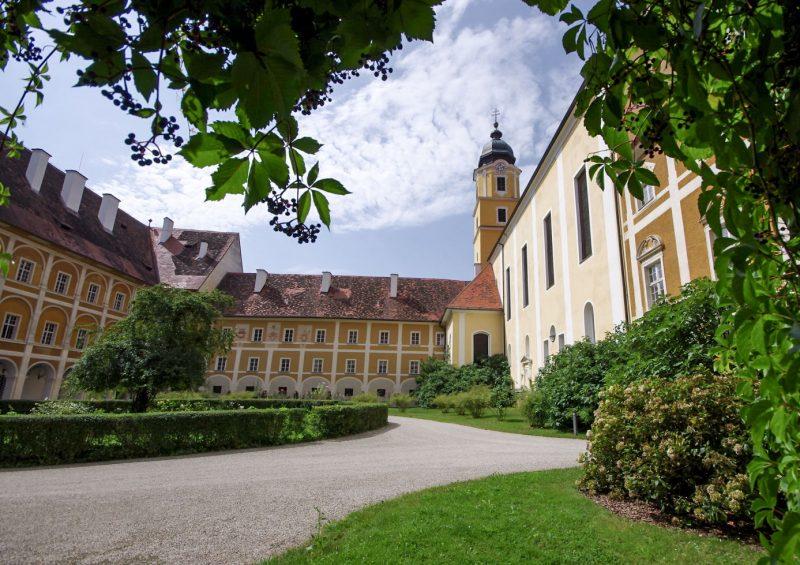 Внутренний двор замка