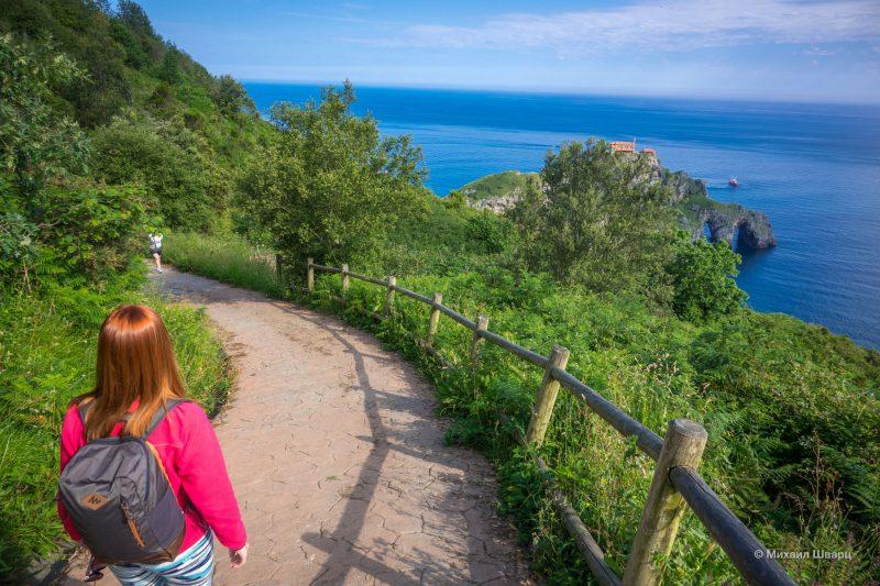 Поездка на остров Гастелугаче и парк Урдайбай 2