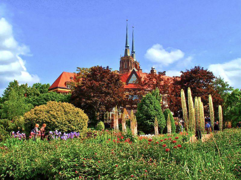 Ботанический сад Вроцлавского университета (Ogród Botaniczny Uniwersytetu Wroclawskiego)