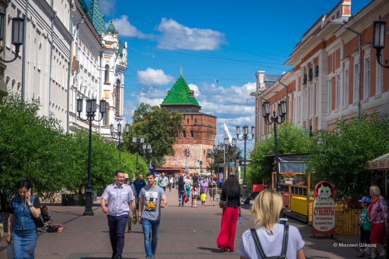 Прогулка по Нижнему Новгороду 9