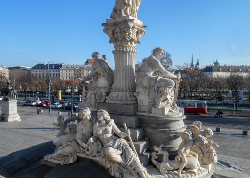 Детали фонтана