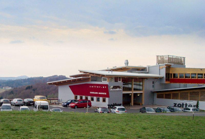 Фабрика Zotter – «театр шоколада» в окрестностях Ригерсбурга
