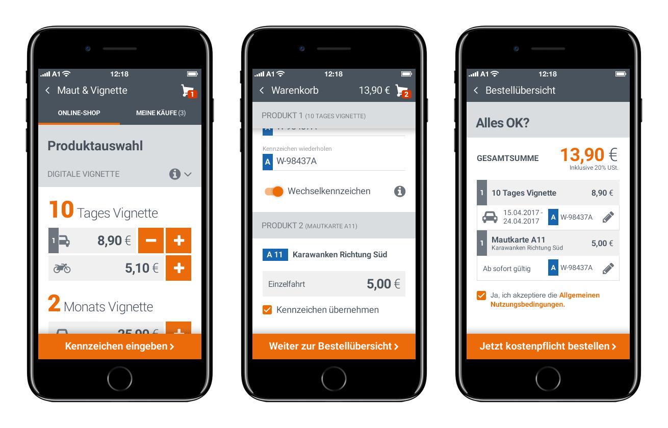 Покупка через мобильное приложение