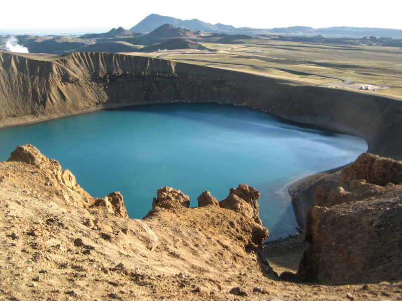 Crater lake Viti, т.е. Ад