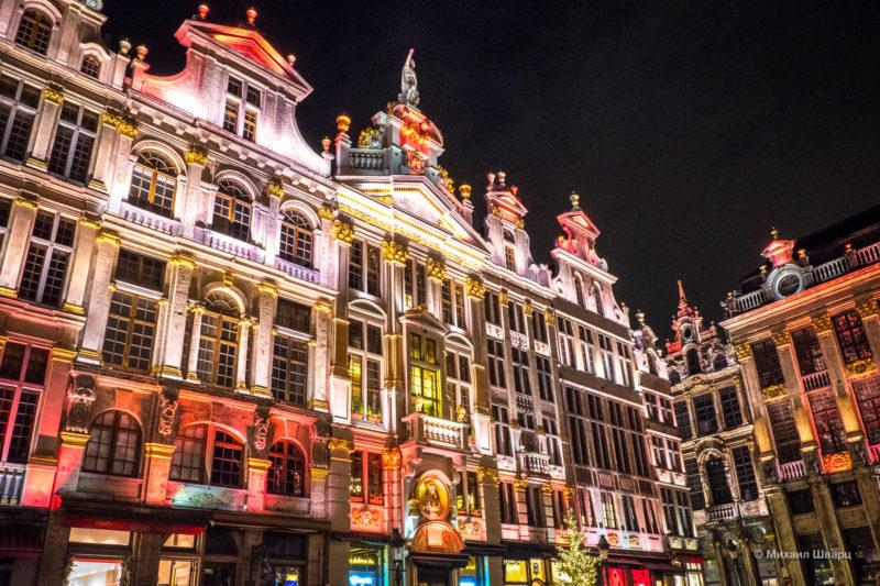 Прогулка по рождественскому Брюсселю 7