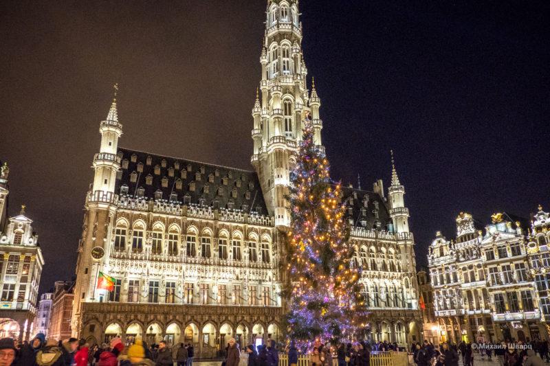Прогулка по рождественскому Брюсселю 1