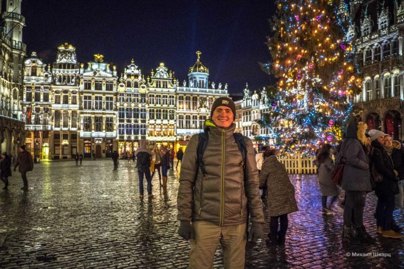 Прогулка по рождественскому Брюсселю 9