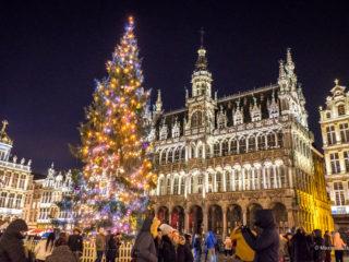 Прогулка по рождественскому Брюсселю