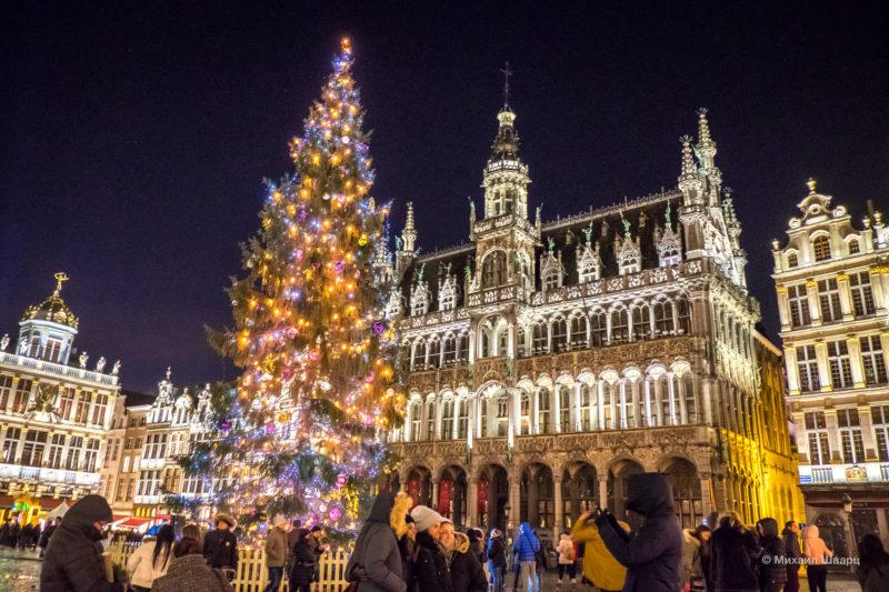 Прогулка по рождественскому Брюсселю 10