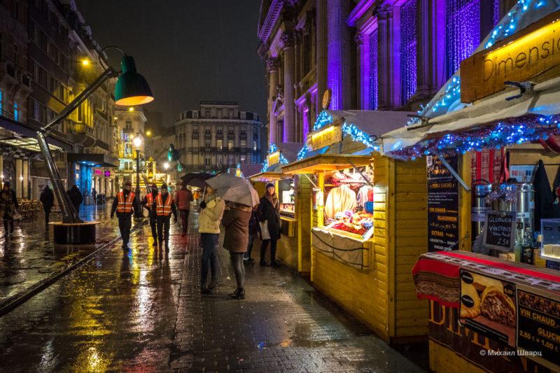 Прогулка по рождественскому Брюсселю 19