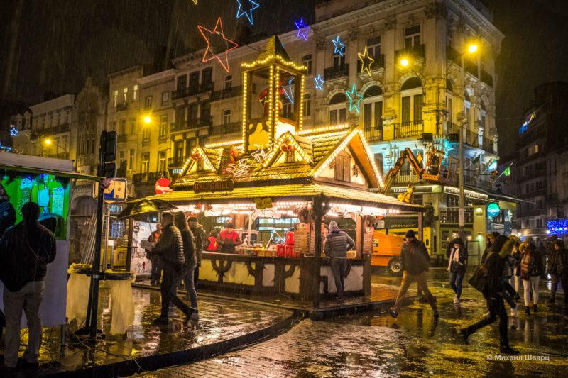 Прогулка по рождественскому Брюсселю 23