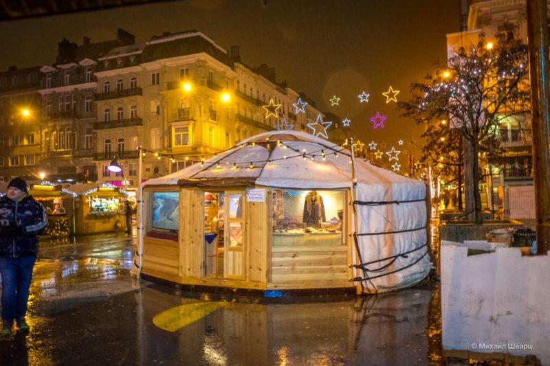 Прогулка по рождественскому Брюсселю 25